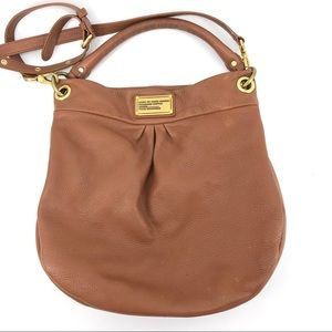 Marc Jacobs Leather Crossbody Bag Brown Purse